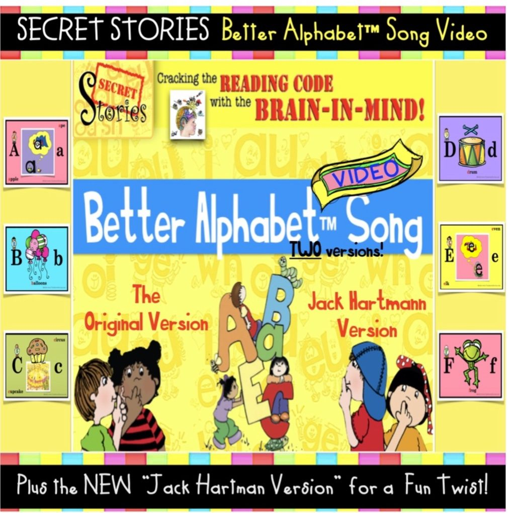 Better Alphabet Song Videos for Online Learning Lessons