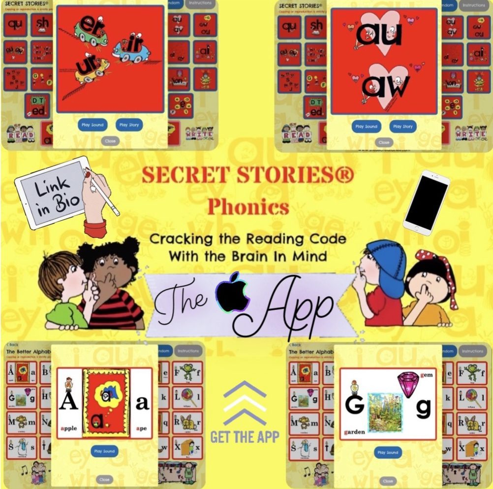 Secret Stories Phonics App for Reading