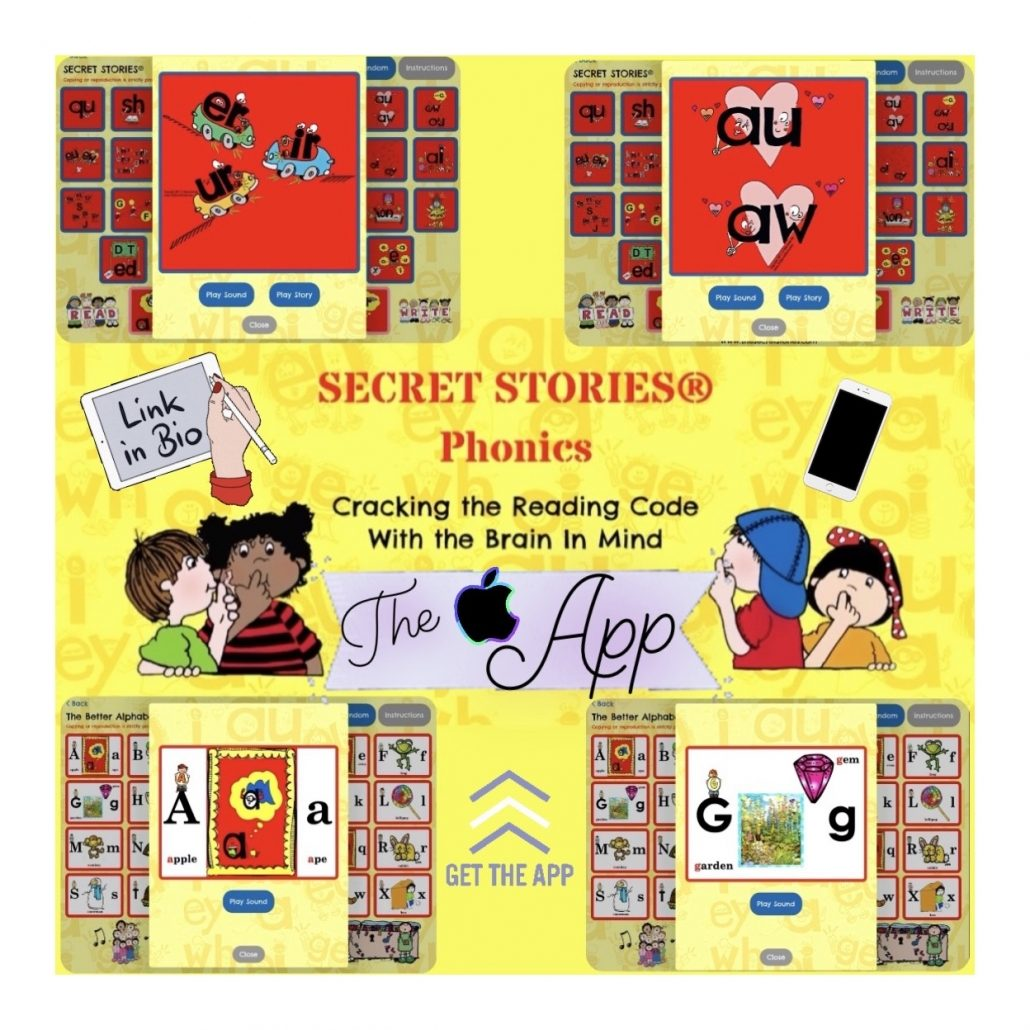 Secret Stories Phonics App Preview pic