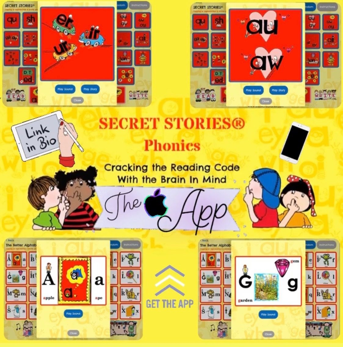 Secret Stories Phonics App