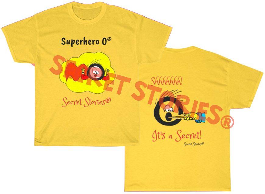 superhero vowel o phonics shirt