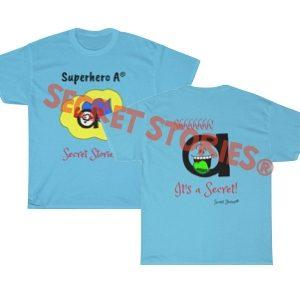 superhero vowel a shirt