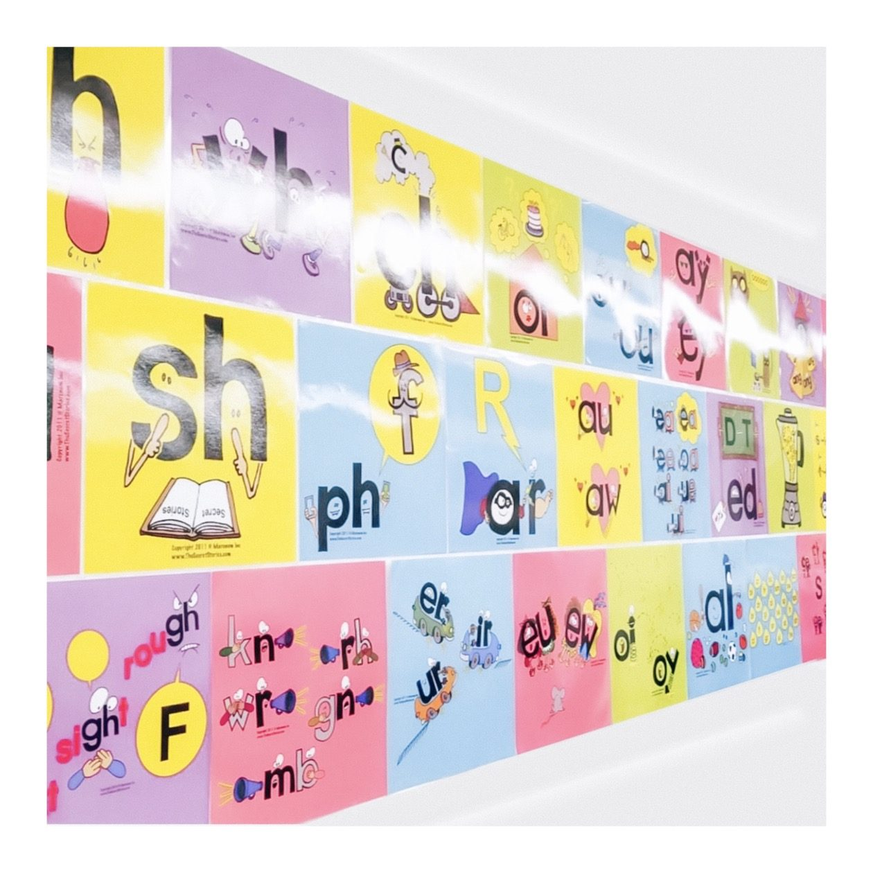 Secret Stories Phonics Posters