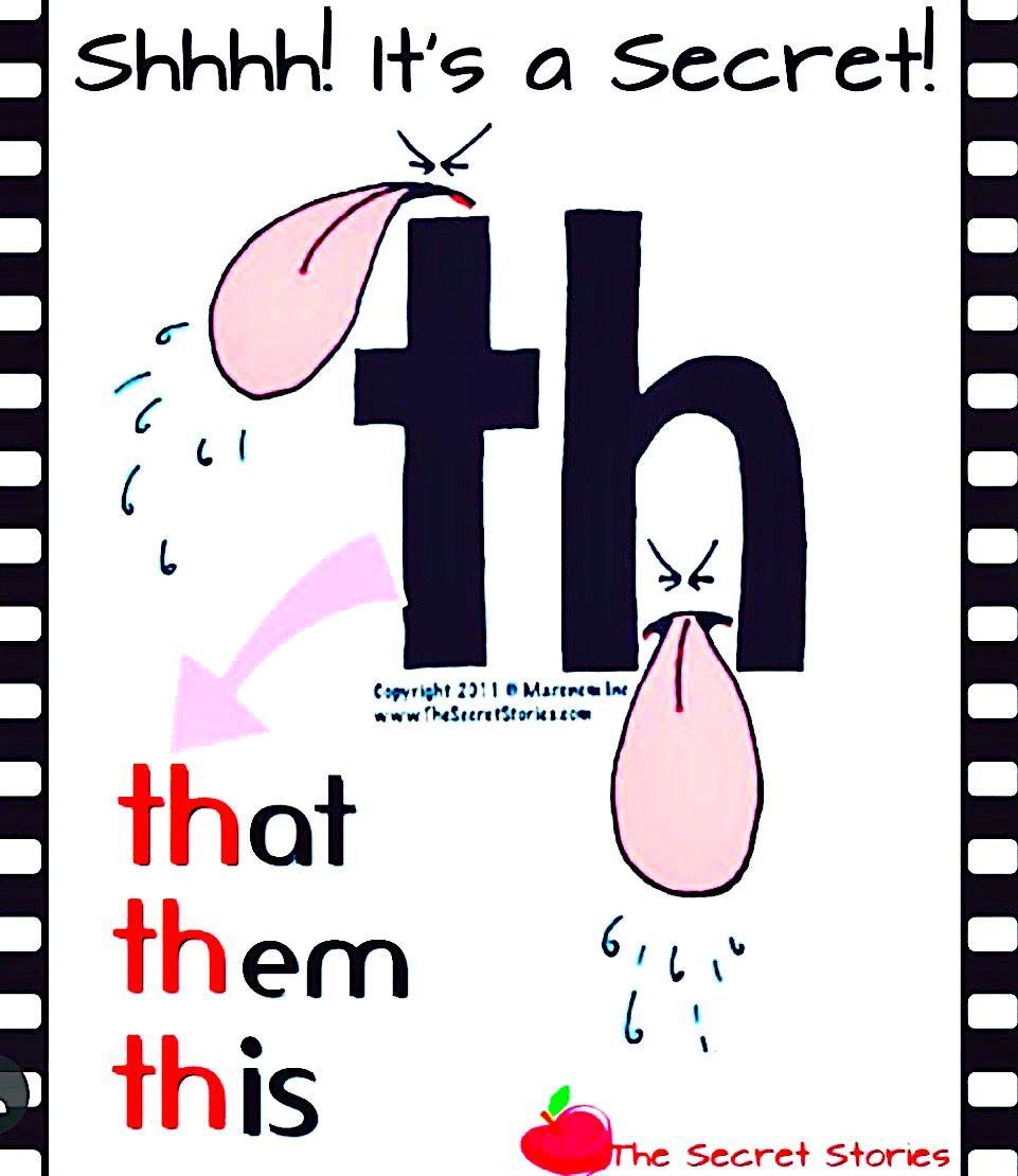 th phonics story