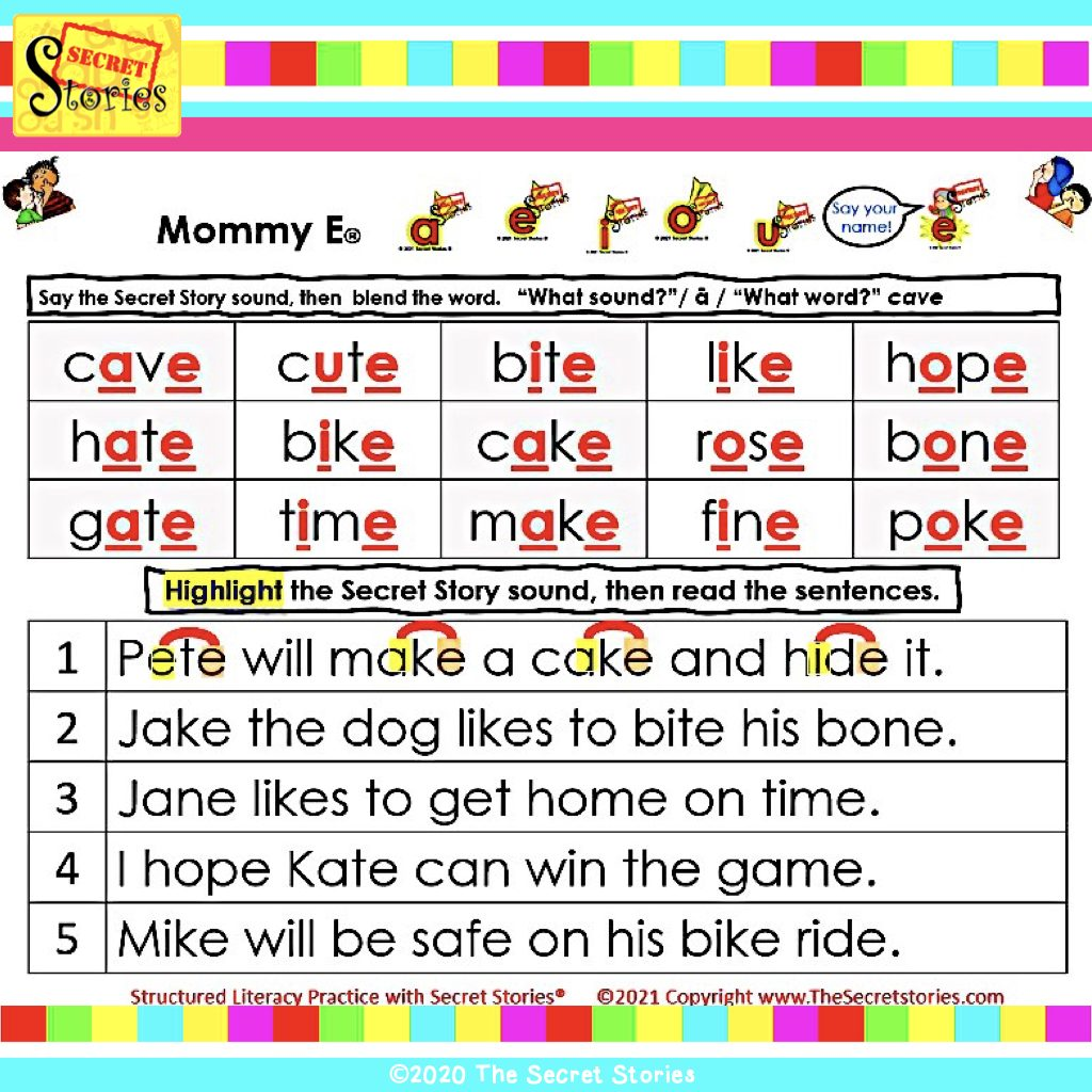 Structured Literacy SoR Mommy E