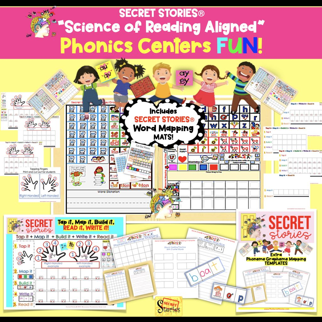 SCIENCE OF READING phonics centers