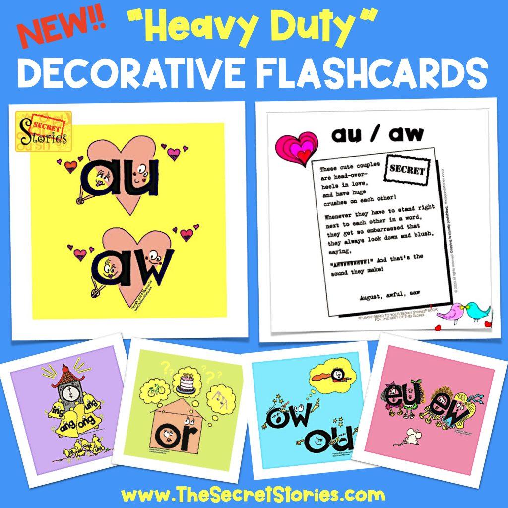 Phonics Flashcards Decorative