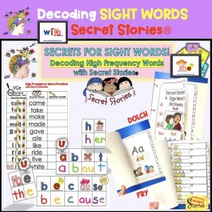 Decoding Sight Words with Phonics Secrets